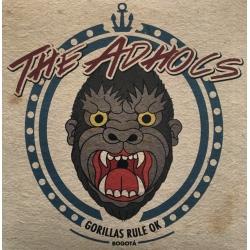 """The Adhocs - Gorillas Rule OK EP 7"""""""