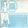 "On the Job/ Jenny Woo - Split EP 7"" (half blue/half yellow)"