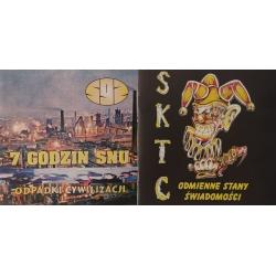 7 Godzin Snu - Odpadki Cywilizacji & SKTC - Odmienne Stany Świadomości split CD