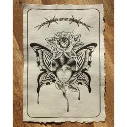 Wojtek - wzór babka z motylem