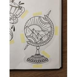Wojtek - wzór globus
