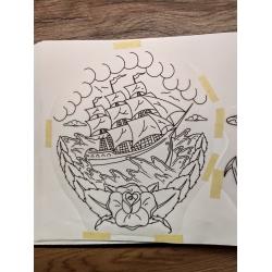 Wojtek - wzór statek