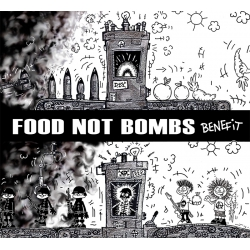 Food not Bombs Benefit - składanka CD