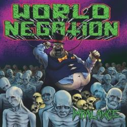 "World Negation – Imbalance LP 12"" (zielony)"