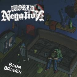 """World Negation - Born Broken EP 7"""" (niebieski)"""
