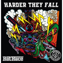 """Ratrace - """"Harder They Fall"""" LP"""
