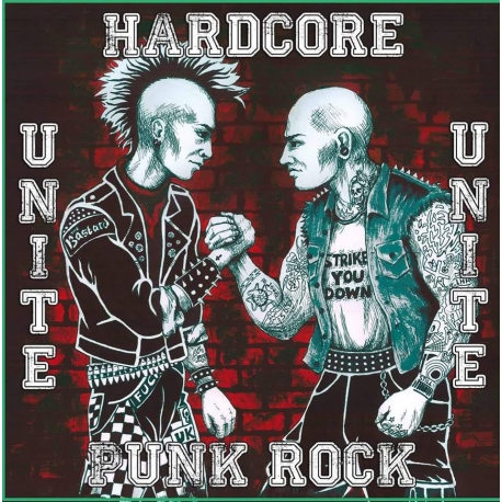 Hardcore United Punk Rock - Strike You Down/The Bastard