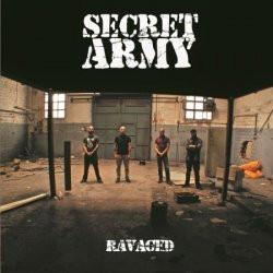 "Secret Army ""Ravaged"" LP 12` (splatter)"