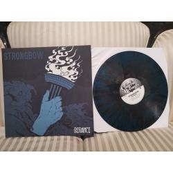 """Strongbow - """"Defiance"""" 12` (blue/black splatter)"""