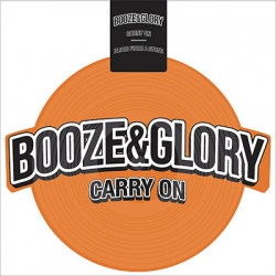 """Booze & Glory - """"Carry On"""" 8` (shaped vinyl orange)"""