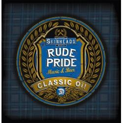 Rude Pride - s/t 7` EP (hald red/white)