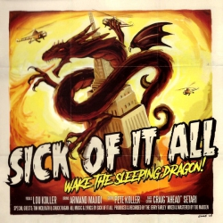 Sick of it all- Wake The Sleeping Dragon LP 12`
